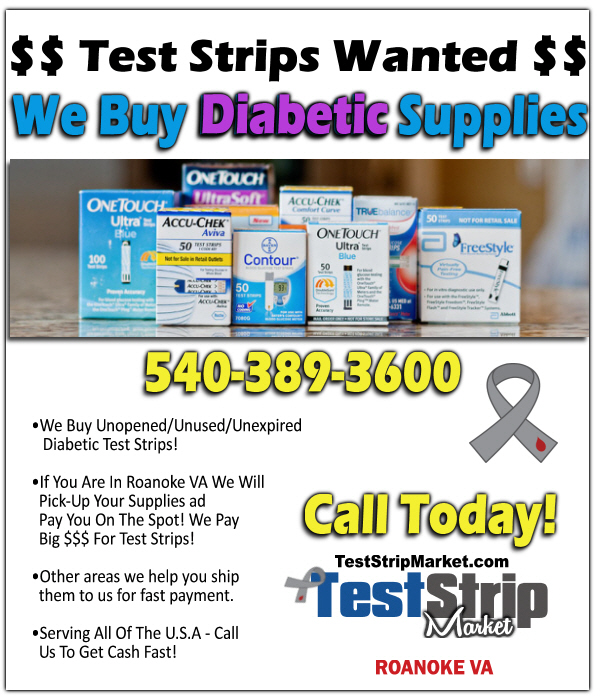 quality design e8a4a fb759 We are in the Roanoke VA area and buy Diabetic Test Strips